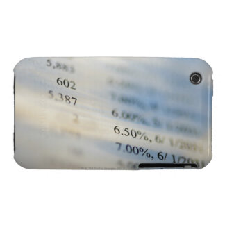 Banking statements iPhone 3 Case-Mate case