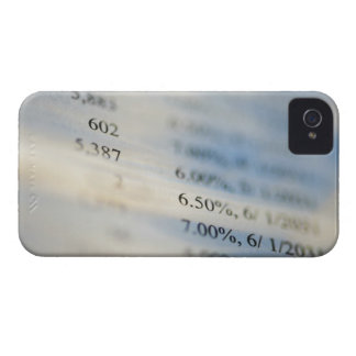 Banking statements iPhone 4 cover