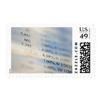 Banking statements postage