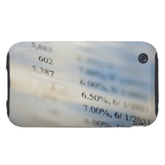 Banking statements tough iPhone 3 cover
