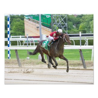Bankit Winning The Commentator Stakes Photo Print