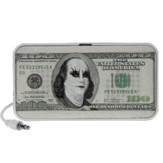Banknote Gothic Parody Doodle Speaker