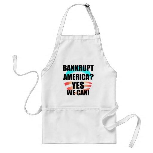 Bankrupt America? Adult Apron