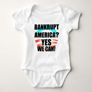 Bankrupt America? Baby Bodysuit