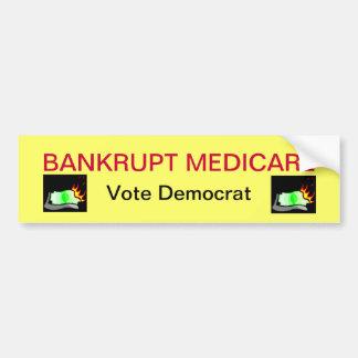 Bankrupt Medicare Bumper Sticker