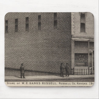 Banks Hardware, Russell Bank, Kansas Mouse Pad