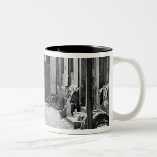 Banks of the Bievre, Paris, 1858-78 Two-Tone Coffee Mug
