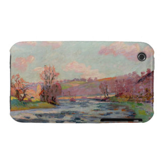 Banks of the Creuse, Limousin, c.1912 (oil on canv iPhone 3 Case-Mate Case