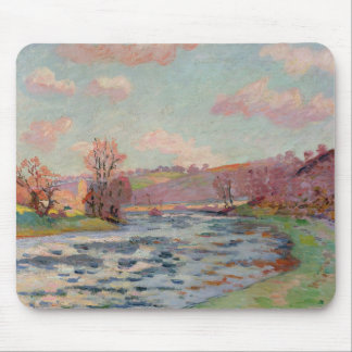 Banks of the Creuse, Limousin, c.1912 (oil on canv Mouse Pad