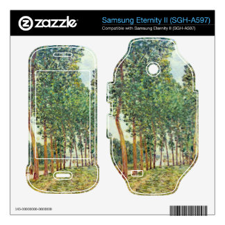 Banks of the Loing in Moret by Alfred Sisley Samsung Eternity II Decal