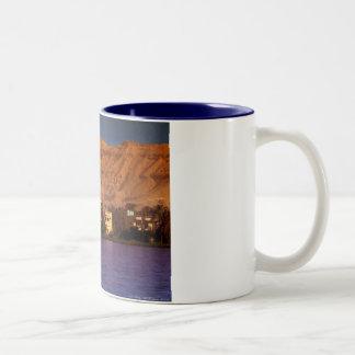 Banks Of The Nile Two-Tone Coffee Mug