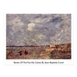 Banks Of The Pas-De-Calais By Jean-Baptiste Corot Postcard