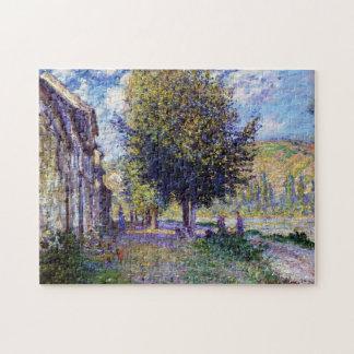 Banks of the Seine at Lavacourt Monet Fine Art Puzzle