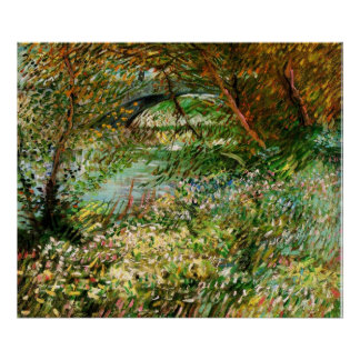 Banks of the Seine in the Spring - van Gogh Print