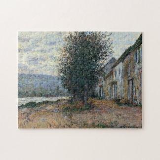 Banks of the Seine Monet Fine Art Jigsaw Puzzle
