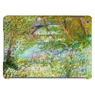 Banks of the Seine  Pont  Clichy Van Gogh painting iPad Air Covers