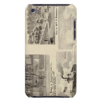 Banks, residences and breweries in Shawneetown iPod Case-Mate Case