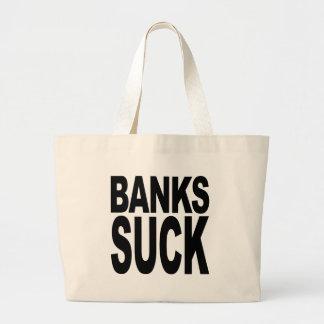 Banks Suck Tote Bags