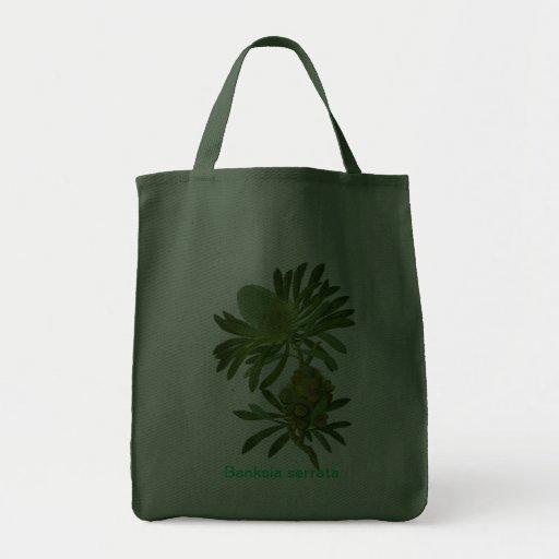 Banksia Serrata Grocery Tote Bag