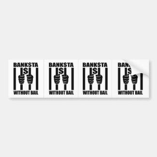 Bankstas Without Bail Stickers