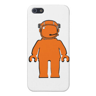 Banksy Style Astronaut Minifig Case For iPhone SE/5/5s