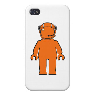 Banksy Style Astronaut Minifig iPhone 4 Covers