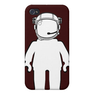Banksy Style Astronaut Minifig iPhone 4/4S Cases