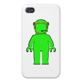 Banksy Style Astronaut Minifig Covers For iPhone 4