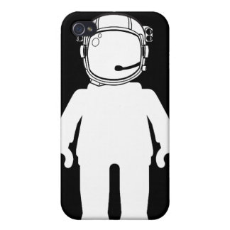 Banksy Style Astronaut Minifig iPhone 4 Cases