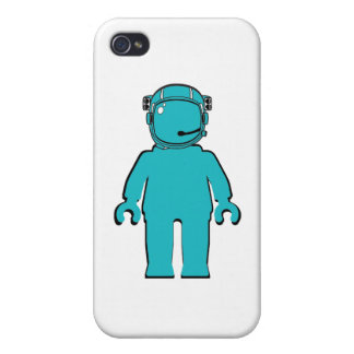 Banksy Style Astronaut Minifig iPhone 4/4S Case