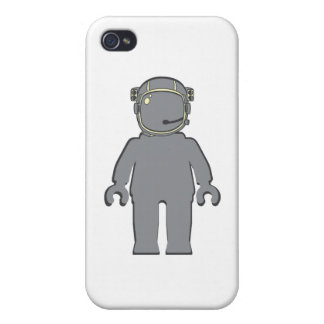 Banksy Style Astronaut Minifig iPhone 4 Case