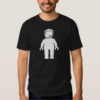 Banksy Style Astronaut Minifig Tee Shirt