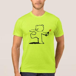 Banksy Teddy Bomber Shirt
