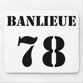 Banlieue 78 mouse pad