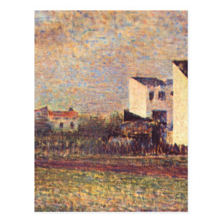 Banlieue by Georges Seurat Postcard