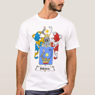 Bann Family Hungarian Coat of Arms T-shirt