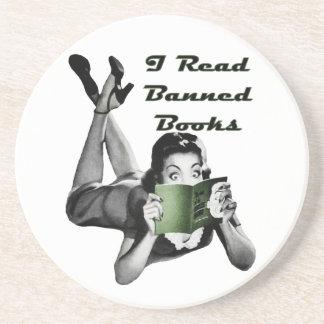 Banned Books Coaster
