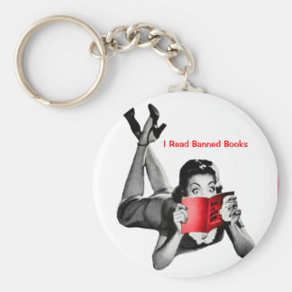 Banned Books Keychain