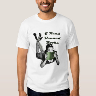 Banned Books One Sided Shirt