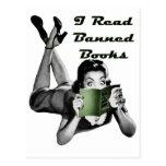 Banned Books Postcard