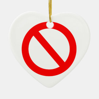 Banned Christmas Ornament