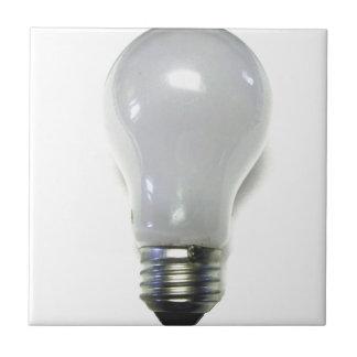 Banned Incandescent Light Bulb Ceramic Tile