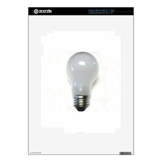 Banned Incandescent Light Bulb iPad 2 Decals