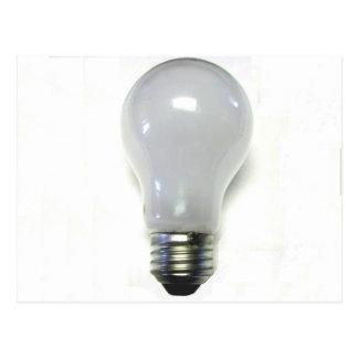Banned Incandescent Light Bulb Postcard