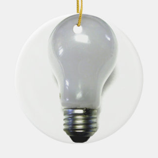 Banned Incondecent Light Bulb Christmas Ornament