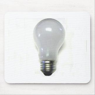 Banned Incondecent Light Bulb Mousepads