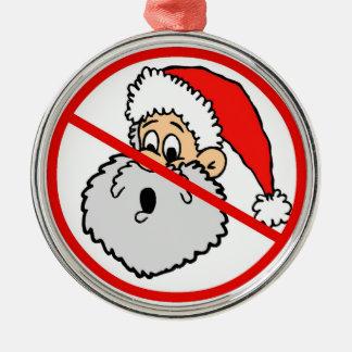 Banned Santa Ornament