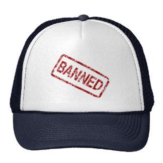 Banned Stamp Trucker Cap Trucker Hat