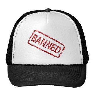 banned trucker hat