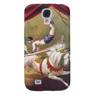 Banner Act Vintage Circus Art Samsung Galaxy S4 Cover